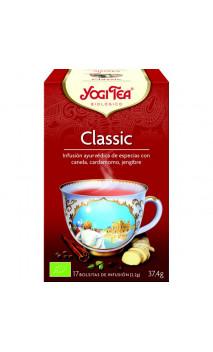 Infusion bio Yogi Tea Classic - YOGI TEA - 17 sachets x 1,8 g.