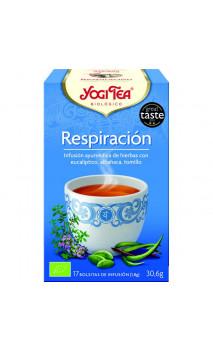 Infusión ecológica Respiración - YOGI TEA - 17 bolsitas x 1,8 g.