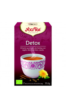 Infusión ecológica DETOX - YOGI TEA - 17 bolsitas x 1,8 g.