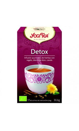 Infusión ecológica DETOX - YOGI TEA - 12 bolsitas x 1,8 g.