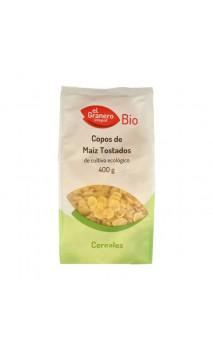 Copos de Maíz Tostado Bio - El granero integral - 400 g