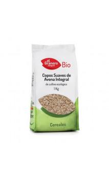 Copos Suaves de Avena Integral Bio - El granero integral - 1 Kg