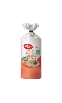Tortitas de Arroz con Cúrcuma y Pimienta Sin Gluten Bio - El granero integral - 115 g