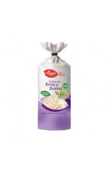 Tortitas de Arroz y Quinoa Bio - El granero integral - 120 g
