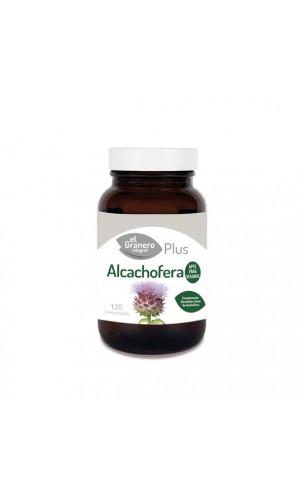Artichaut bio - Complément alimentaire BIO Hépato-biliaire - Verre ambre - El granero integral - 120 cap - 400 mg