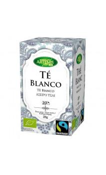 Té blanco ecológico Fair trade - Artemis bio - 20 bolsitas