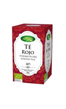 Thé rouge bio - Pu Erh - Artemis bio - 20 sachets