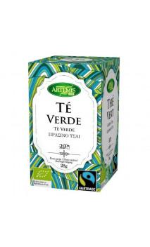 Té verde ecológico Fair trade - Artemis bio - 20 bolsitas