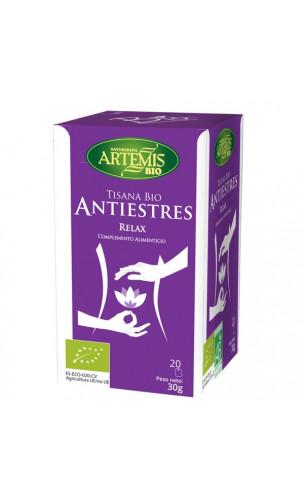 Tisana Bio Antiestres - Complemento Alimenticio Bienestar - Artemis bio -  20 bolsitas x 1,5 g