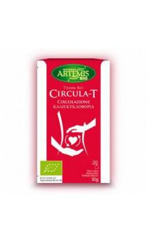 Tisane Bio Circula-T -  Complément Alimentaire Circulation - Artemis bio - 20 sachets x 1,5 g