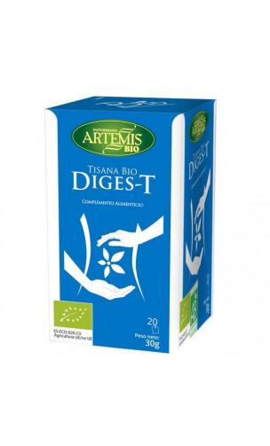 Tisana Bio Diges-T -Complemento Alimenticio Digestión - Artemis bio -  20 bolsitas x 1,5 g