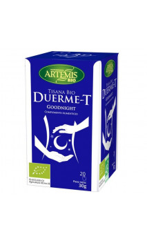 Tisana Bio Duerme-T - Complemento Alimenticio Relajación - Artemis bio -  20 bolsitas x 1,5 g