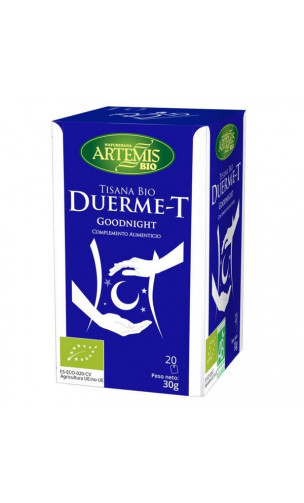 Tisana Bio Duerme-T -Complemento Alimenticio Digestión - Artemis bio -  20 bolsitas x 1,5 g