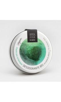 Déodorant bio solide Paseo por el bosque (promenade boisée) - Huile de chanvre - Amapola Biocosmetics - 60 g.