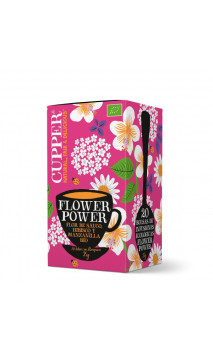 Infusion flower power bio - Cupper - 20 sachets