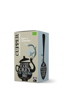 Thé noir Earl grey bio - Cupper - 20 sachets