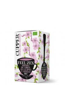 Infusión feel zen bio - Cupper - 20 bolsitas
