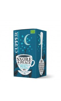Infusion snore & peace bio - Cupper - 20 sachets