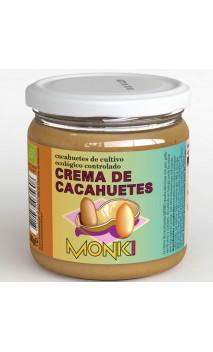 Crema de cacahuetes BIO - Sabor Tostado - Monki - 330g