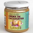Crème de cacahuètes BIO - Grillées - Monki - 330g