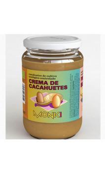 Crème de cacahuètes BIO - Grillées - Monki - 650g