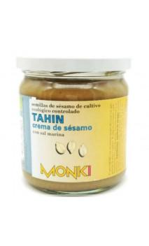 Tahin au sel marin BIO - Graines de sésames grillées - Monki - 330g