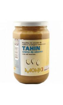 Tahin au sel marin BIO - Graines de sésames grillées - Monki - 650g