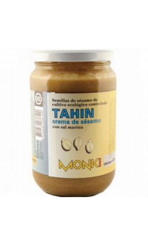 Tahín con sal marina Bio - crema de sésamo - monki - 650g