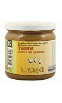 Tahin sans sel ajouté BIO - Graines de sésames grillées - Monki - 330g