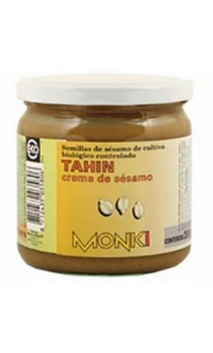 Tahin sans sel BIO - Graines de sésames grillées - Monki - 330g