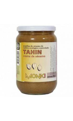 Tahin sans sel BIO - Graines de sésames grillées - Monki - 650g
