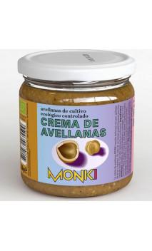 Crème de noisettes BIO - Grillées - Monki - 330g