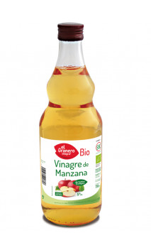 Vinagre de manzana Ecológico - El granero integral - 75cl
