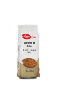 Semillas de lino BIO - El granero integral - 500g