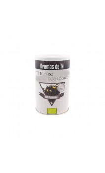 Té negro bio Earl Grey (Estimulante) - Té ecológico - Aromas de té - 10 pirámides