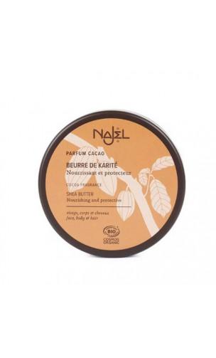 Beurre de karité BIO certifié - Soin nourrissant et protecteur - Najel - 150 g.