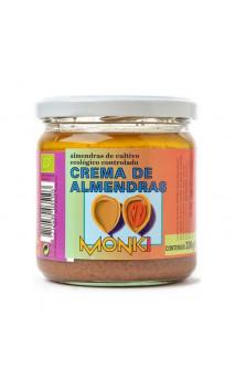 Crema de almendras Bio - monki - 330g