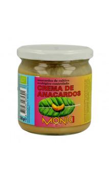 Crema de anacardos Bio sin sal marina - monki - 330g