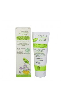 Crema de pañal ecológica (pasta) para bebé con manteca de karité y aceite de oliva- Sensé - 75 ml.