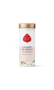 Shampooing en poudre BIO GUÁRANA- Stimulant et fortifiant - Cheveux gras et chute - Rechargeable  - Eliah Sahil - 100 g.