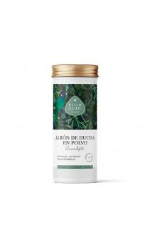 Savon douche en poudre bio Eucalyptus - Rafraîchissant - Peau normale - Rechargeable - Eliah Sahil - 90 g.