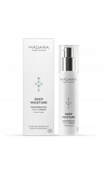 Crema de noche ecológica Regeneradora - Regenerating night cream - Deep Moisture - MÁDARA - 50 ml.