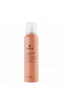 Déodorant bio Spray- Parfum Grenade - Avril - 150 ml.