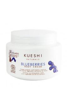 Crème corporelle naturelle Myrtilles - Raffermissante & Nourrissante - KUESHI - 250 ml.