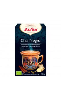 Thé noir bio - Infusion Chaï Assam - YOGI TEA - 17 sachets x 1,8g