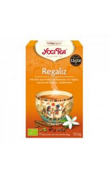 Infusion bio Yogi Tea Réglisse - YOGI TEA - 17 sachets x 1,8g