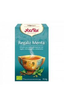 Infusion bio Yogi Tea Réglisse Menthe - YOGI TEA - 17 sachets x 1,8g