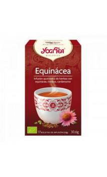 Infusion bio Yogi Tea Échinacée - YOGI TEA - 17 sachets x 1,8g