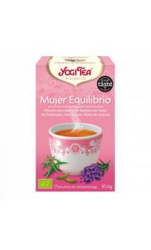 Infusion bio Yogi Tea Équilibre Féminin - YOGI TEA - 17 sachets x 1,8g