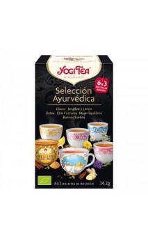 Pack Infusion bio Yogi Tea Assortiment Découverte - YOGI TEA - 18 sachets x 1,8g